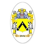 Phillp Sticker (Oval 10 pk)