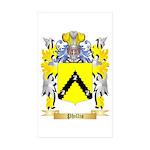 Phillis Sticker (Rectangle 50 pk)