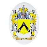Phillis Oval Ornament
