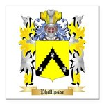 Phillipson Square Car Magnet 3