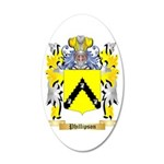 Phillipson 35x21 Oval Wall Decal
