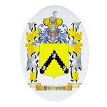 Phillipson Oval Ornament