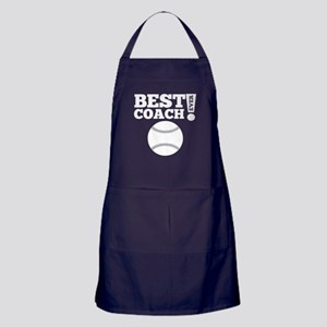 Best Baseball Coach Ever Apron (dark)
