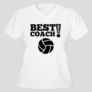 Best Volleyball Coach Ever Plus Size T-Shirt