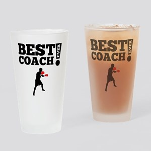 Best Boxing Coach Ever Drinking Glass