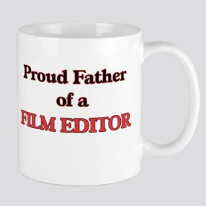 Proud Father of a Film Editor Mugs