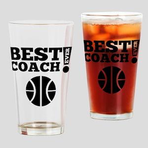 Best Basketball Coach Ever Drinking Glass