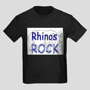 Rhinos Rock Ash Grey T-Shirt