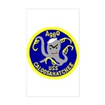 USS Caloosahatchee (AO 98) Rectangle Sticker