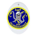 USS Caloosahatchee (AO 98) Oval Ornament