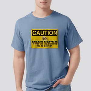 Caution Beekeeper Women's Dark T-Shirt