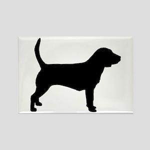 Beagle Dog Rectangle Magnet
