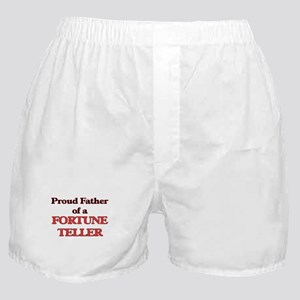 Proud Father of a Fortune Teller Boxer Shorts