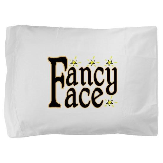 Fancy Face Pillow Sham