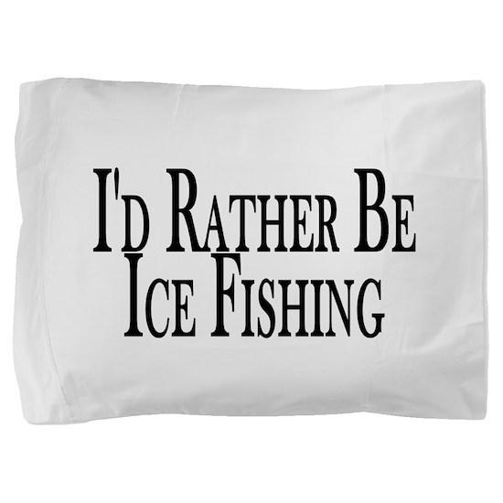 Rather Ice Fish Pillow Sham