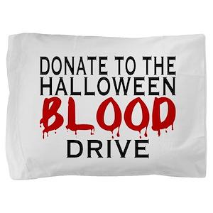 Blood Drive Pillow Sham