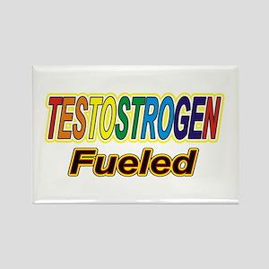 Testostrogen Fueled Rectangle Magnet