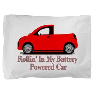 Battery Powered Car Pillow Sham