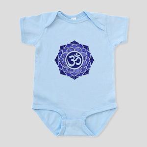 Lotus-OM-BLUE Body Suit