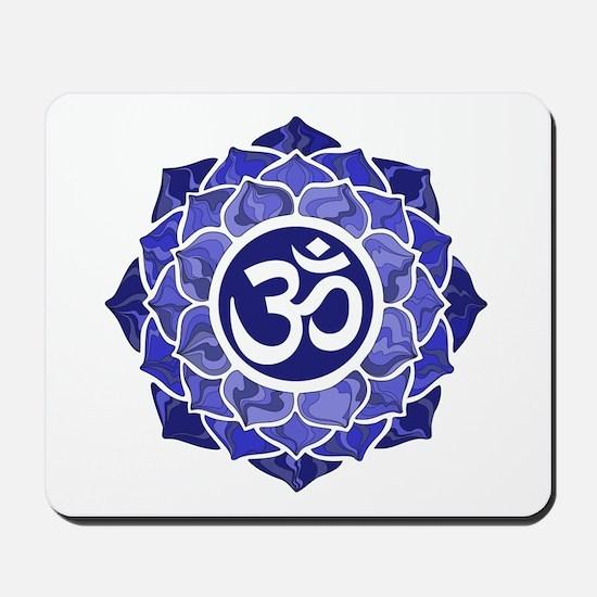 Lotus-OM-BLUE Mousepad