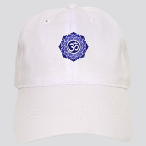 Lotus-OM-BLUE Baseball Cap