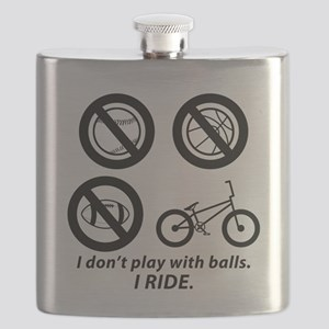 I don't play with balls--BMX Flask