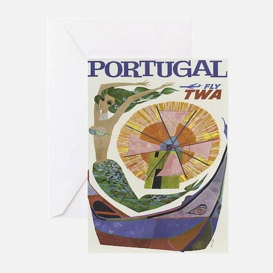 Vintage poster - Portugal Greeting Cards