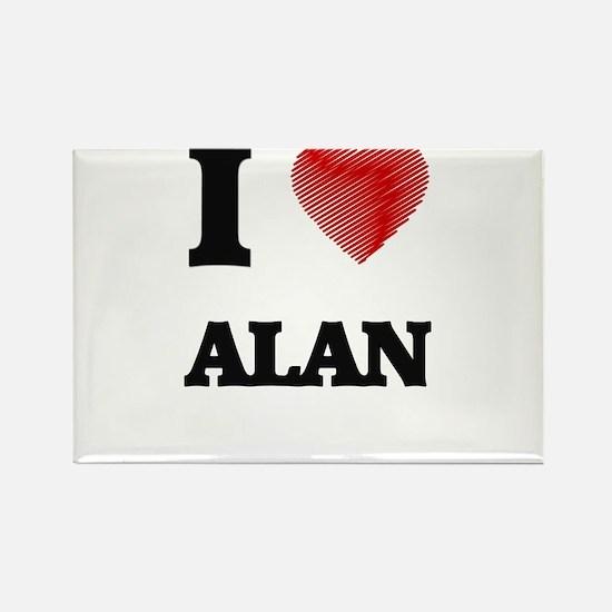 I love Alan Magnets