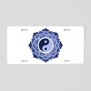 L-YY-Blu Aluminum License Plate