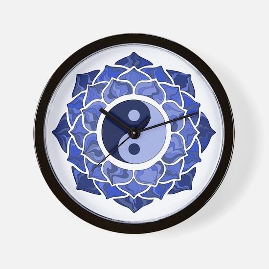 L-YY-Blu Wall Clock