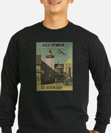 Vintage poster - Germany Long Sleeve T-Shirt