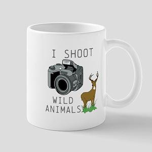 I Shoot Wild Animals Mug