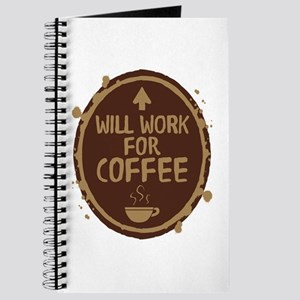 Will Work for Coffee Journal