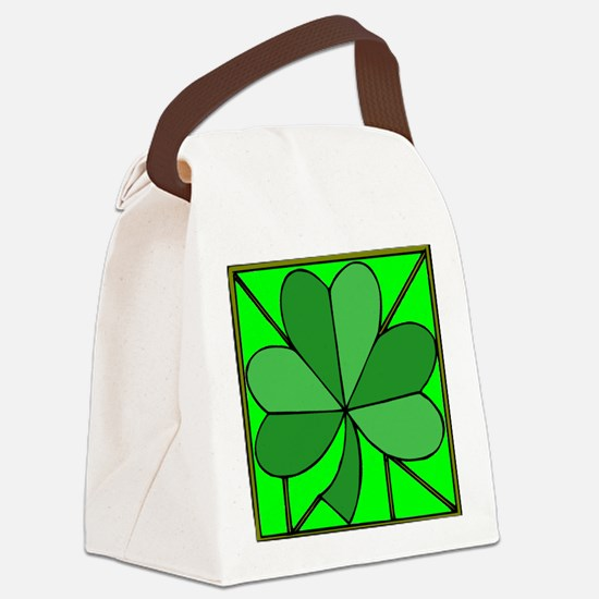 Funny Saints patricks day Canvas Lunch Bag