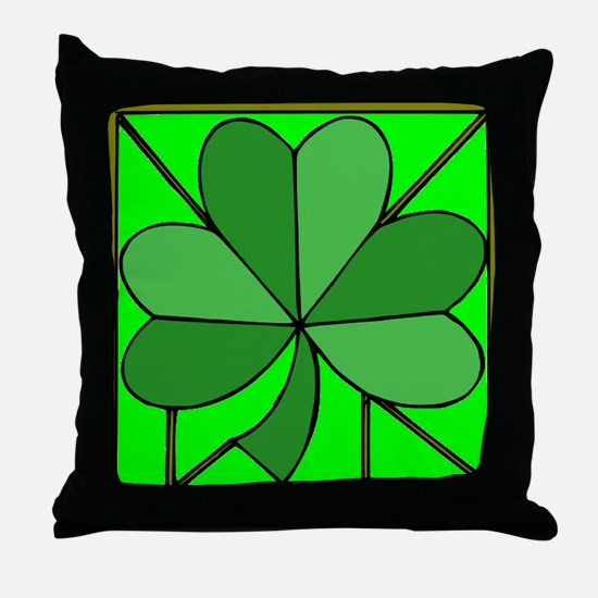 Cute Irish blessing Throw Pillow