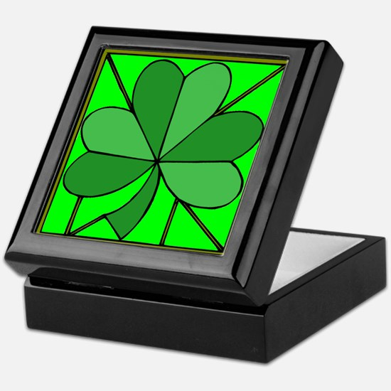 Cute Saint patricks day Keepsake Box