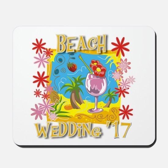 Beach Wedding 17 Mousepad