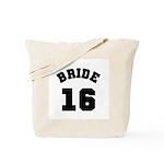 Bride 16 Tote Bag