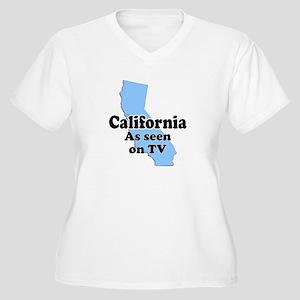 California As Seen On TV Women's Plus Size V-Neck