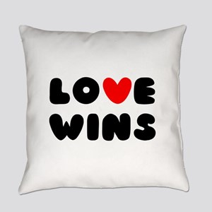 Love Wins Everyday Pillow