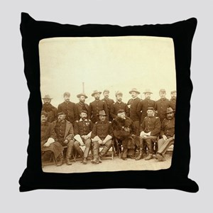 United States Civil War Cavalry Throw Pillow