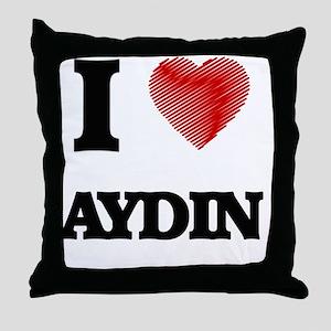 I love Aydin Throw Pillow