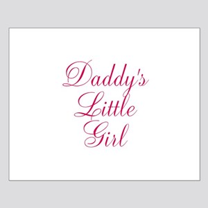 Daddys Little Girl in Pink Posters
