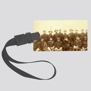 United States Civil War Cavalry Large Luggage Tag