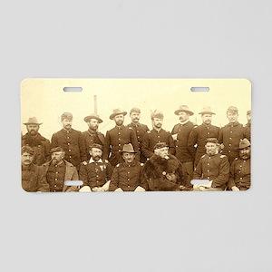 United States Civil War Cav Aluminum License Plate