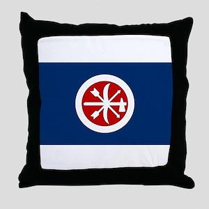 Choctaw Brigade Throw Pillow