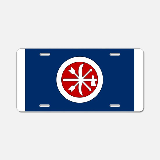 Cute Choctaw nation Aluminum License Plate