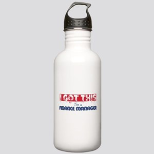 Finance Manager Stainless Water Bottle 1.0L