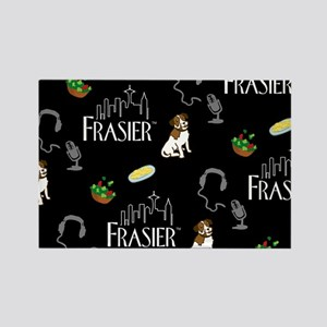 Frasier: Eddie The Dog Full Bleed Rectangle Magnet