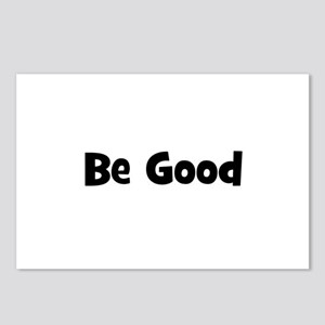 Be Good Postcards (Package of 8)